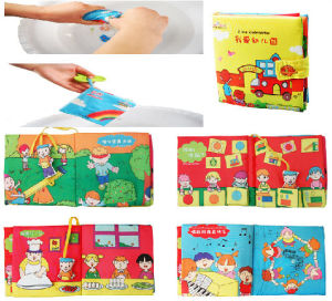 Colorful Washable Baby Cloth Books pictures & photos