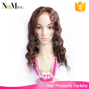 Alibaba New Fashion Wig Indian Remy Full Lace Human Hair Wig / Lace Front Human Hair Wig for African Americans, Color #4 pictures & photos