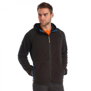 2016 OEM Men Fleece Jacket with Hood pictures & photos