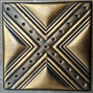 Luxury 3D PU Leather Wall Panel for Decoration (HS-MK003) pictures & photos
