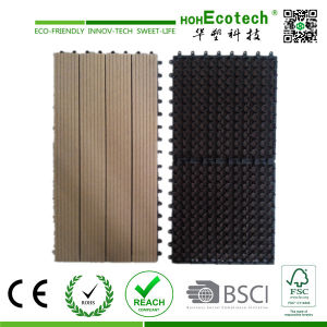 DIY WPC Interlocking Composite Decking Tiles/ Cheap Deck Tiles pictures & photos