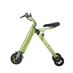 Foldable Aluminium Alloy Electric Bike with Seat pictures & photos