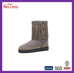 Baautiful Women Boots with Tassels pictures & photos