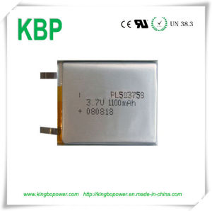 3.7V Rechargeable Polymer Lithium Ion Battery for Personal Treatment System (400mAh)