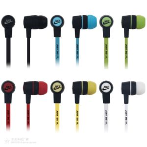 High Quality Waterproof Metal Earphone Stereo Fashion MP3 Wired