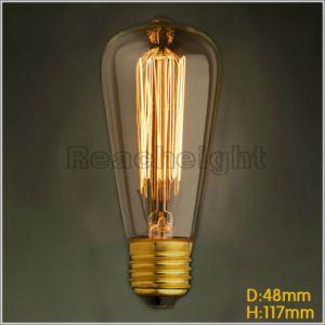 St48 E27 110V 220V Vintage Edison Bulb Incandescent Light Bulbs pictures & photos