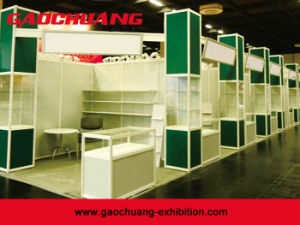 3X3 Aluminum Material Standard Octanorm Exhibition Booth Display Stand (GC-33) pictures & photos
