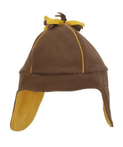 Promotional Winter Warm Knitted Polar Fleece Hat/Cap pictures & photos