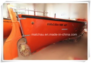 30 Persons Solas Approved Open Type FRP Life Boat pictures & photos