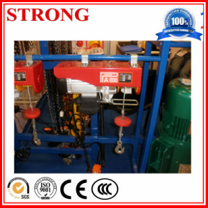Mini Hoist for Lifting Heavy Good From Ground pictures & photos