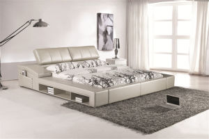 Modern Bedroom Furniture with Bedside Table pictures & photos