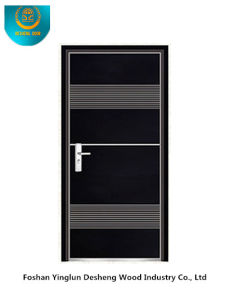 Modern Style Steel Door with Black Color for Interior or Exterior (b-6030) pictures & photos