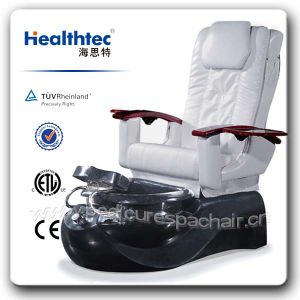 Armrest with Cup Holder Folding Salon Chair with Massage Back D401-3202 pictures & photos