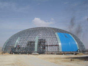 Large Span Space Frame Structure for Dome Coal Storage Shed (Andy SF001) pictures & photos