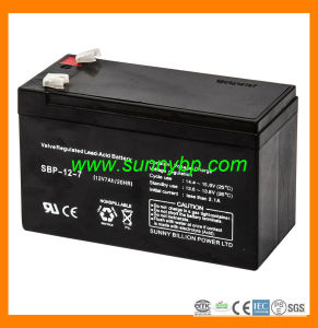 New 12V/7ah Deep Cycle Solar Battery Maintenance Free pictures & photos