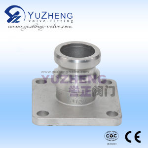 Stainless Steel Camlock Coupling with Flanged End pictures & photos