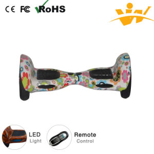 Cheap Wholesale 10 Inch Electric Scooter with LED and Buetooth pictures & photos