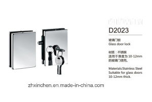 Xc-D2023 High Quality Glass Door Lock pictures & photos