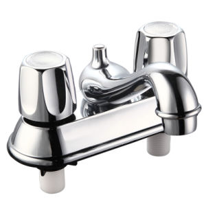 Four Inch Chrome ABS Faucet (JY-1116-P) pictures & photos