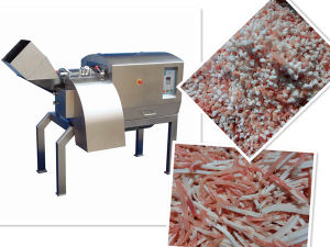 600kg Frozen Meat Dicer/Cutting Machine Drd450 with CE Certification pictures & photos