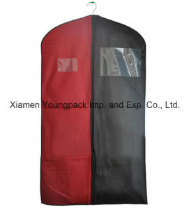 Custom Two Tone Non-Woven Promotional Suit Cover Bag pictures & photos