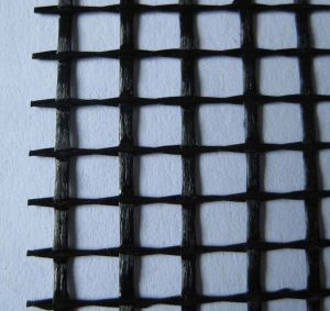 Alkali-Resistant Fiberglass Mesh Coated with Carbon pictures & photos