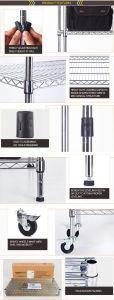 Stainless Steel Restaurant Kitchen Wire Rack pictures & photos