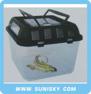 Tansparent Plastic Turtle Box Reptiles pictures & photos