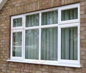 High Quality European Styple PVC/UPVC Bay Windows (BHP-CWP30) pictures & photos