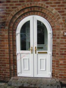 European Standard PVC Hinge Arch Door (BHP-CDA15) pictures & photos