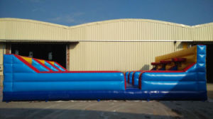 10.7X4.6X1.2m Outdoor Playground Amusement Park Inflatable Bungee Run for 3 Players pictures & photos