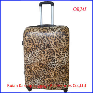 PC Leopard Hard Shell Trolley Luggage Suitcase pictures & photos