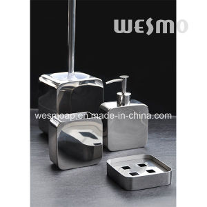 Square Shape Stainless Steel Bathroom Accessories Set (WBS0813A) pictures & photos