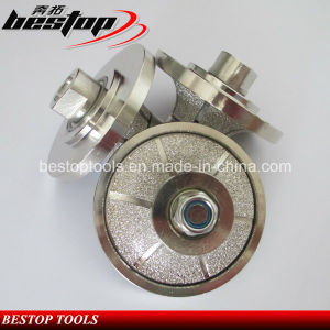 Vacuum Brazed Diamond Router Bit for Granite and Marble Stone pictures & photos