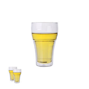 Borosilicate Double Wall Beer Glass pictures & photos