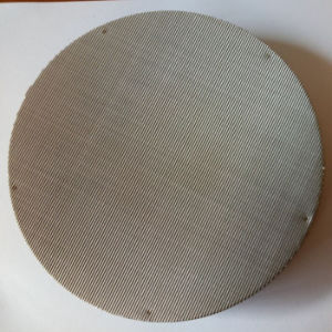 195mm 255mm 20 40 60 80 Mesh 304 Stainless Steel/Iron Metal Mesh Filter Disc for Plastic Extruder pictures & photos