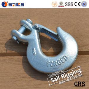 High Tensile H-331 Clevis Slip Hook with Latch pictures & photos