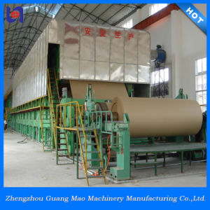 Big Capacity Corrugated Paper Making Machine Using Recycled Waste Paper pictures & photos