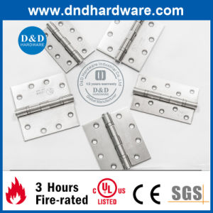 High Quality Door Hardware Ss Crank Hinge with UL Listed (DDSS012) pictures & photos