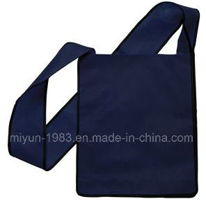 Reusable PP Non Woven Sling Bag with Flap (M. Y-115) pictures & photos