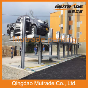 2 Post Simple Two Floor Car Parking Lift pictures & photos