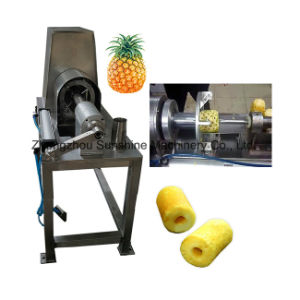 Automatic Stainless Steel Pineapple Peeler Fruit Peeling Machine pictures & photos