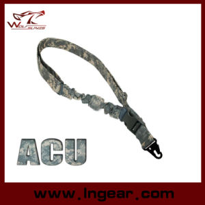 Acu Camo Tactical Bungee One Gun Single Point Rifle Sling pictures & photos