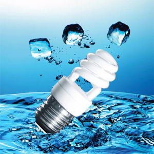 9W T2 Half Spiral Energy Saving Bulb for CFL (BNFT2-HS-A) pictures & photos