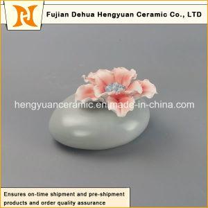 Aroma Stone Jar Flower Fragrance Ceramic Aroma Bottle Burner with Flower pictures & photos