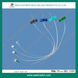 Disposable IV Giving Infusion Scalp Vein Set pictures & photos