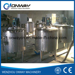 Pl Stainless Steel Jacket Emulsification Mixing Tank Oil Blending Machine Mixer Sugar Solution Mixer Melangeur De Shampoing pictures & photos