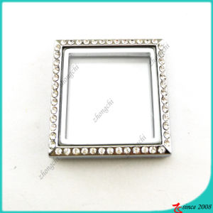 Silver Square Locket Without Loop Jewelry (FL16041944) pictures & photos