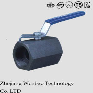 Reduced Bore Carbon Steel High Pressure Forged Ball Valve pictures & photos