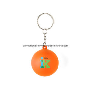 Promotional Stress Ball Keychains Gumball Keyrings pictures & photos